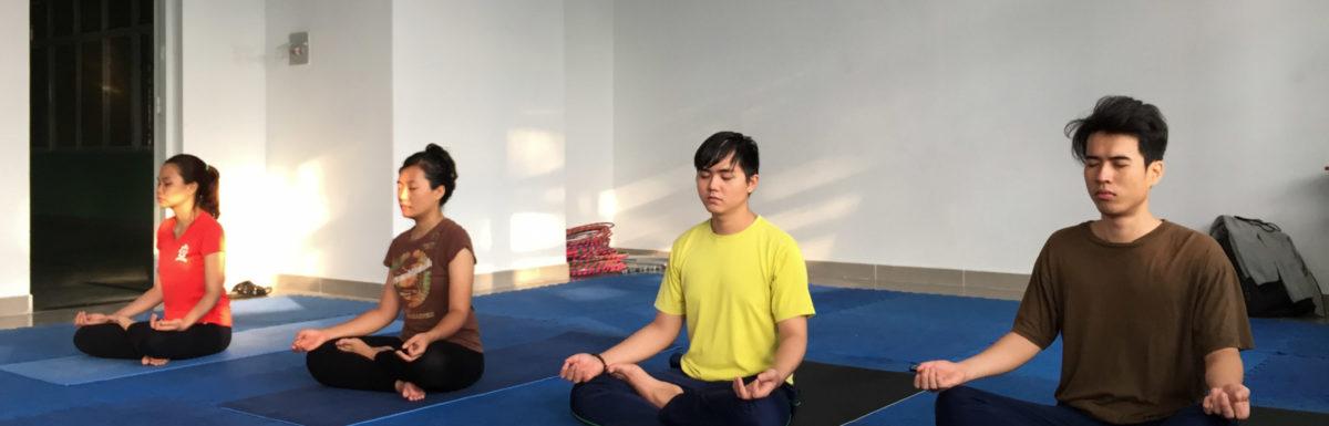 Khai giảng lớp yoga cổ truyền căn bản mới vào tháng 08/2017