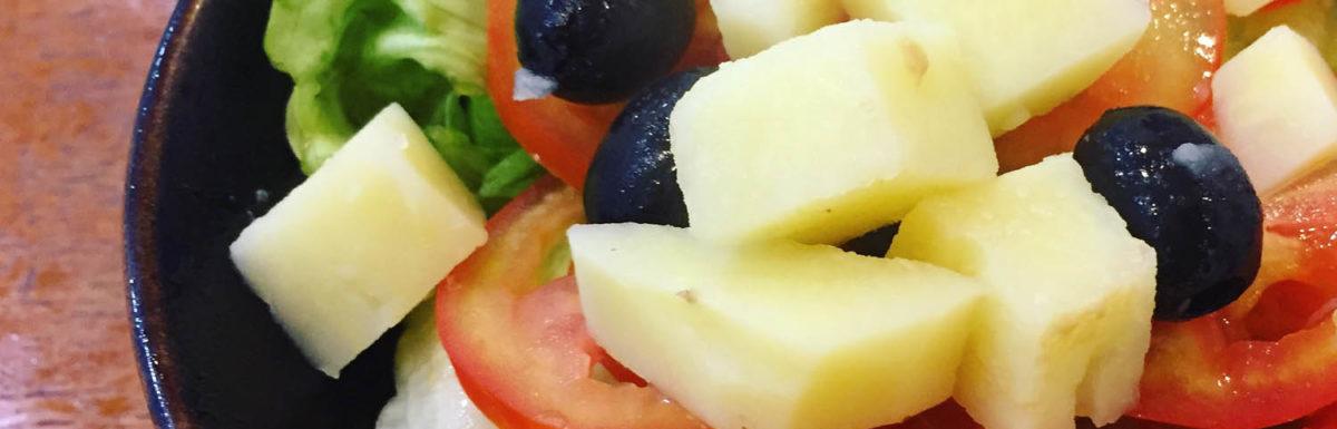 Thực đơn món chay ngon: Salad chay Nicoise